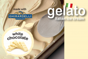 White Chocolate Gelato