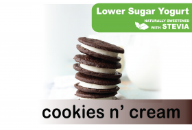 Low Sugar Stevia Cookies n Cream