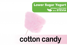 Lower Sugar Stevia Cotton Candy
