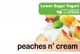 Lower Sugar Stevia Peaches n Cream