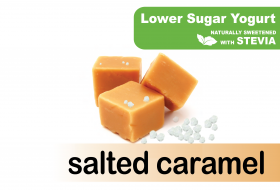 Lower Sugar Stevia Salted Caramel
