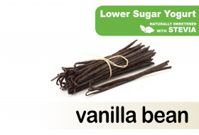 Lower Sugar Stevia Vanilla Bean