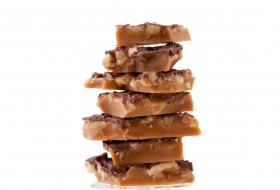 Reduced Sugar English Toffee