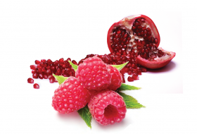Raspberry Pomegranate (non-dairy)