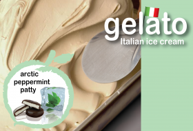 Arctic Peppermint Patty Gelato